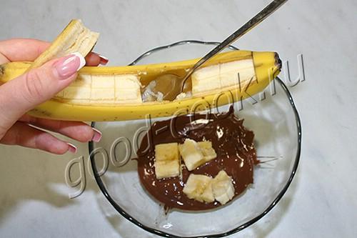 """желе """"Шоколадный банан"""""""