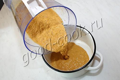 кукурузный суп с пряностями