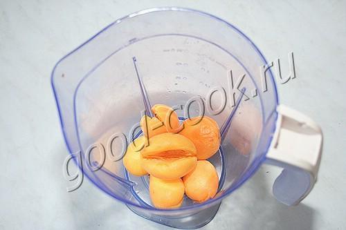 замороженная абрикосовая пена