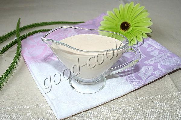 постный майонез с фасолью