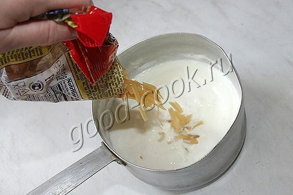 рецепт молочного супа из вермишели