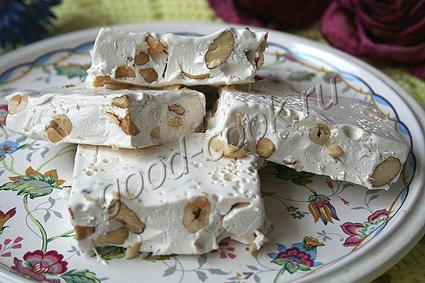 Нуга медовая с орехами рецепт — pic 9