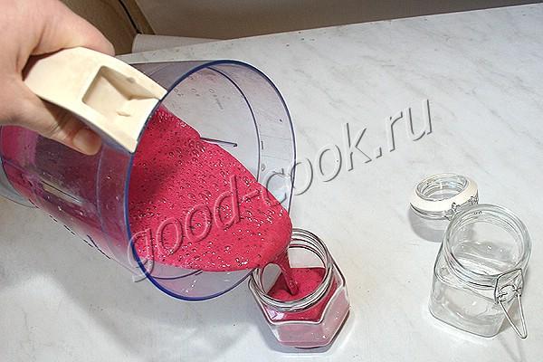 крем-мёд с ягодами