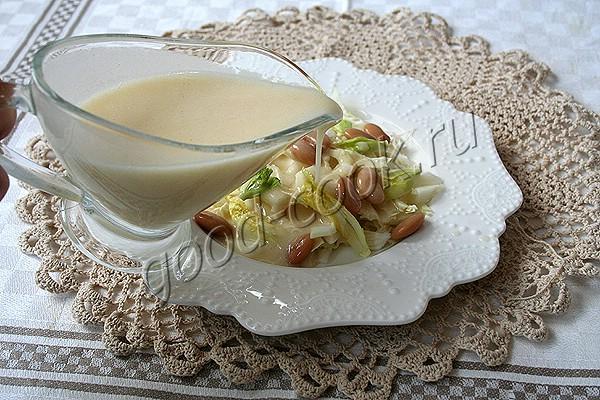 постный майонез на картофельном отваре