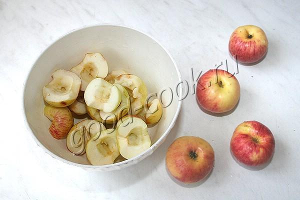 яблочный мусс на манке