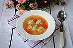 суп с псевдопельменями