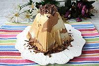 мраморная шоколадно-карамельная пасха