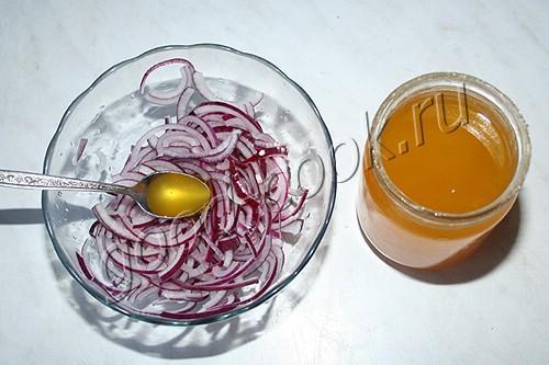 закусочный маринованный лук