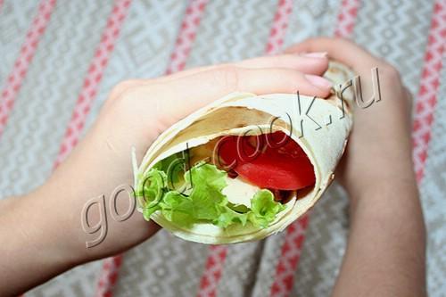 бутерброд-шаурма