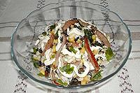 """салат """"Грибное поле"""""""
