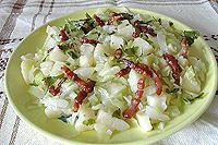 горячий венгерский салат