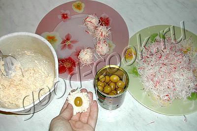 закуска Кораллы