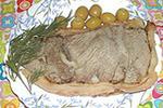 говядина запеченная в тесте по-русски