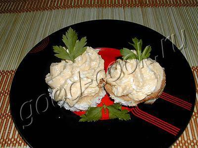 печень и икра минтая салат рецепт