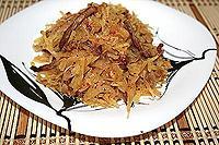 "корейский картофельный салат ""Камди Ча"""