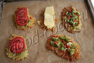 картофельные мини-пиццы