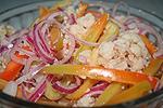 закуска из маринованных овощей