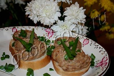 сырно-мясная бутербродная масса