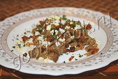 баклажановый салат с яйцами