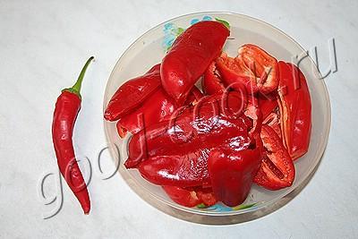 рецепт приготовления перца болгарского в маринаде