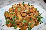 баклажановый салат с мясом