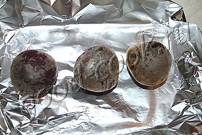 салат из печеной свеклы с грибами