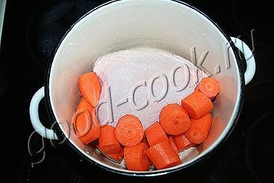 бутербродная масса из курицы и моркови