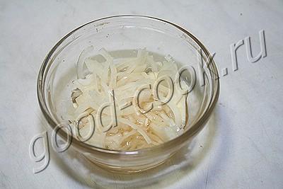 салат из свёклы с перловкой