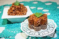 баклажановый паштет с грибами