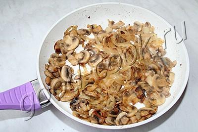 грибной паштет с творожным сыром