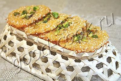 сырные лепёшечки с кунжутом