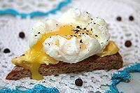 яйцо-пашот, варёное в мешочке