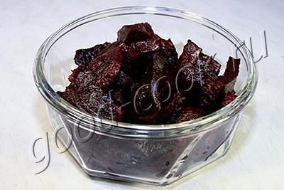 маринованная закусочная свёкла