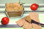 грибной паштет с овощами и чечевицей