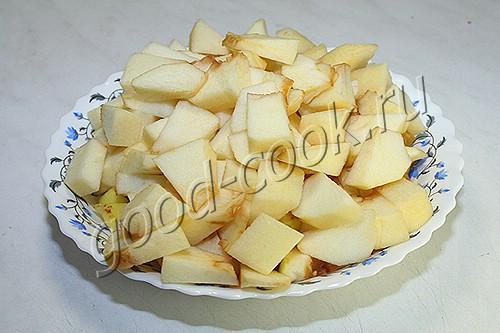паштет из куриной печени с яблоками