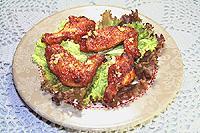 крылышки в томатном соусе (тушеные и запеченные)