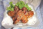крылышки в медово-соевом маринаде