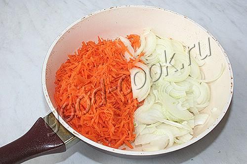 яичный паштет с овощами