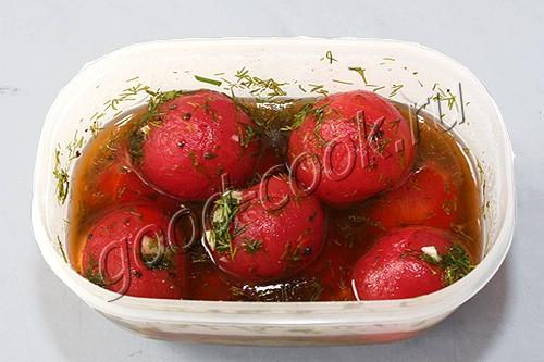 суточные помидоры