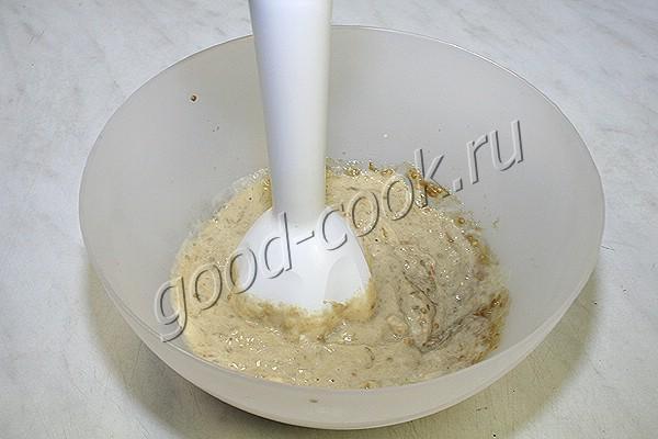 мусс из баклажанов с плавленым сыром