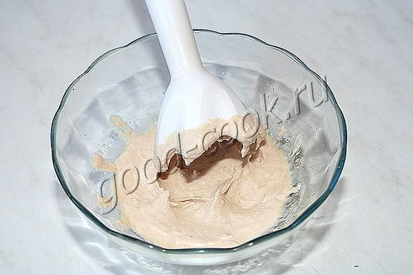 паштет из фасоли с солёными огурцами
