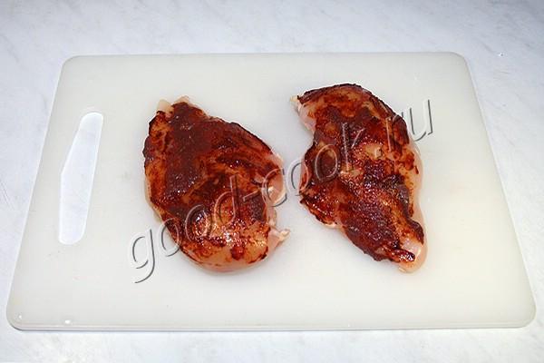 томлёное куриное филе