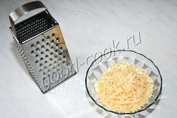 яичный салат с сыром и кукурузой