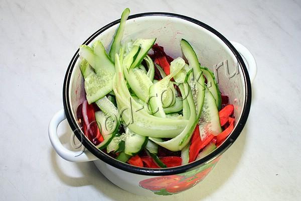 маринованные овощи за два часа
