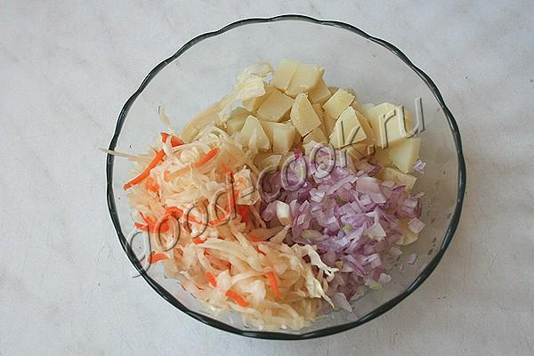 """картофельный салат """"Крестьянский"""""""