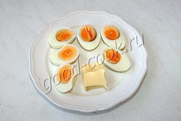 яичный паштет
