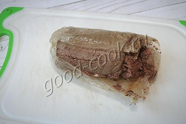 печёночный паштет в пакете