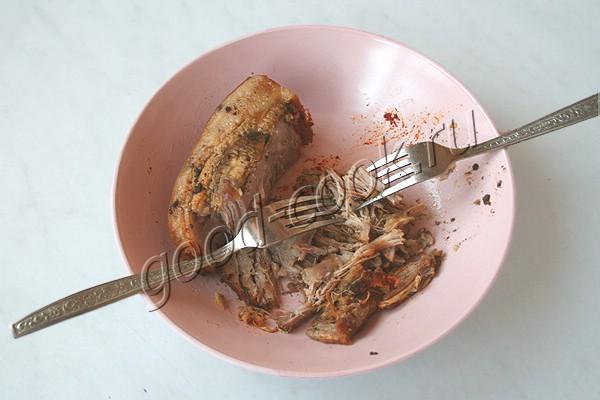 рийет (паштет) из свиной грудинки