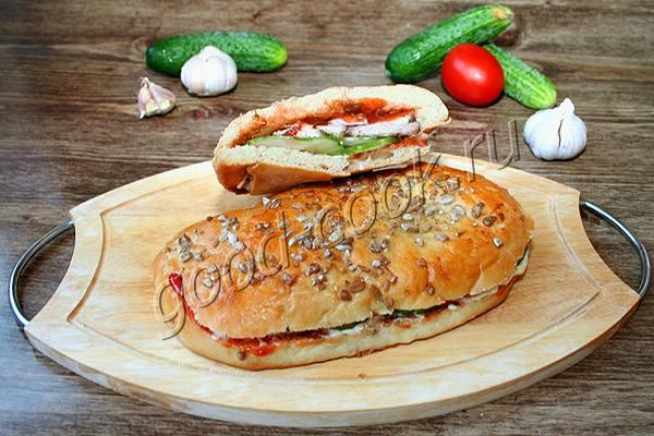 лепешки с мясом и овощами