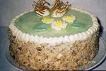 тройной торт